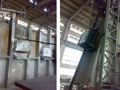 型快速熔铝炉和保温炉